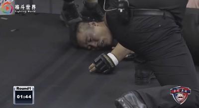 只堅持74秒!詠春大師戰搏擊手被一腳KO