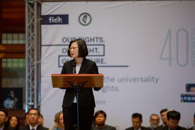 蘇貞昌執行死刑 國際人權聯盟譴責台灣
