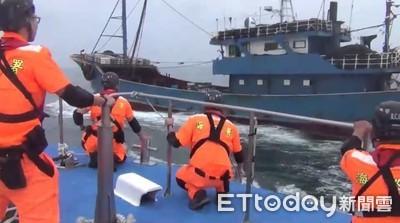 陸漁船越界衝撞「海巡基隆艦」肇逃