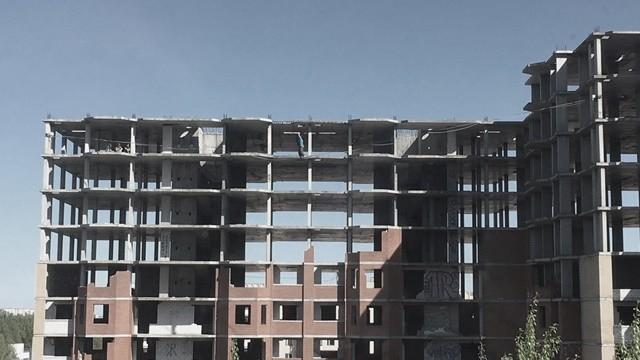 ▲俄國蘇聯時期有建設的地方有很多現在都已經廢棄,晚上看起來更恐怖。(圖/俄式酸奶提供,請勿隨意翻拍,以免侵權。)