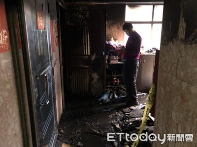 桃園大火1死7傷 找到燒毀行動電源
