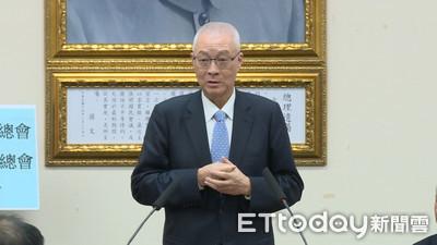 吳敦義:蔡政府讓台灣治安、經濟蕭條