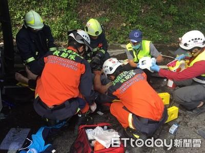 聯結車與自小客擦撞3傷 蘇花東澳段交管