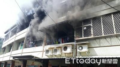 台南歸仁工寮火警延燒波及民宅