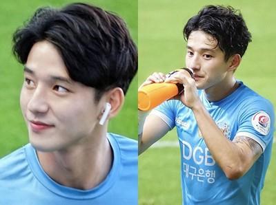 22歲韓國足球小鮮肉鄭勝元