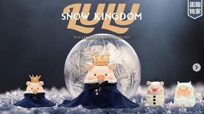 小豬迷站出來!最夯罐頭豬LULU強勢回歸 粉嫩豬雪人再度擄獲你的心