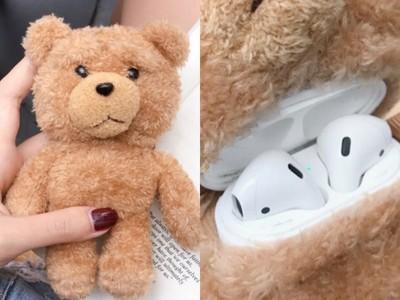 泰迪熊體內能裝AirPods