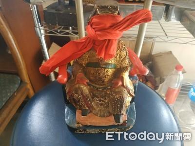 南化龍虎寺神威顯赫警尋回神像