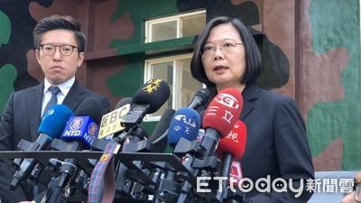 快訊/蔡英文:只有逮捕沒有自首!香港不辦陳同佳「台灣處理」