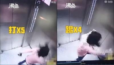 5歲兒不吃飯 恐怖媽電梯失控暴打