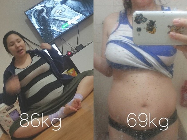▲▼產後憂鬱爆肥40kg!老公嫌棄「妳好噁心」她崩潰離婚…人生大逆轉。(圖/翻攝love__lean IG)