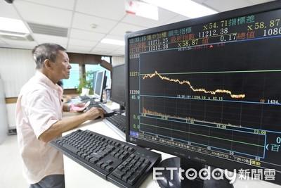 權值股領跌 台股收盤下跌31點