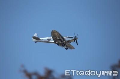 二戰傳奇銀翼噴火式戰機首來台