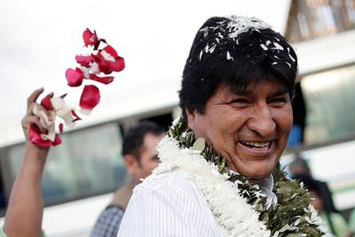 玻利維亞總統宣布下台 14年掌權生涯一次看