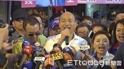 韓國瑜28日到彰化 13個鄉鎮市