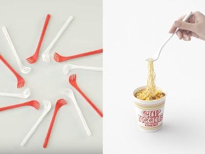 吃泡麵必備這隻好用的泡麵專用叉