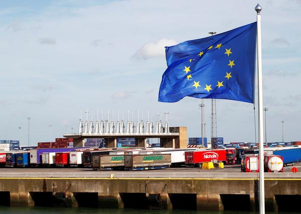 ▲▼英國貨櫃箱屍案。警方查出貨櫃是從比利時澤布呂赫港(Zeebrugge)運抵英國。(圖/路透)
