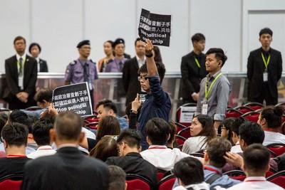 回應參選不符資格 黃之鋒:激發港人抗爭