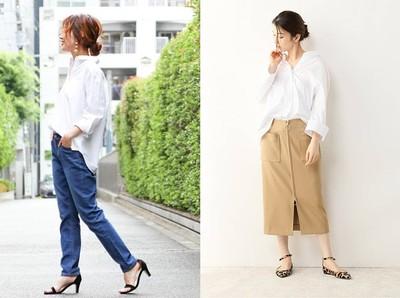 辦公室女生絕對實用的「白襯衫穿搭」