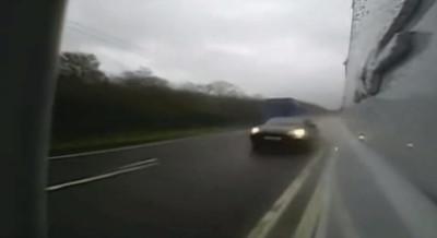 孕媽被保時捷180km/h撞上 噴飛慘死