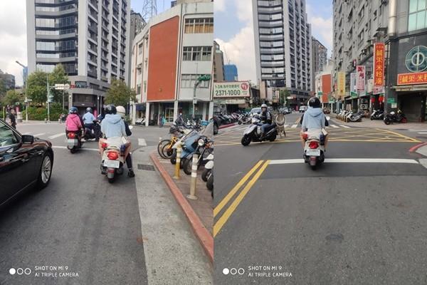 ▲▼警察騎公務車載女友。(圖/翻攝臉書社團「爆怨公社」)