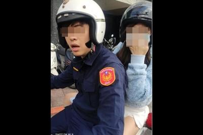 警用公務車載女友 萬華緝毒王:子宮出血