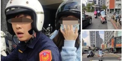 王姓警員女友控「咆哮滿針孔」 爆料者秀手臂自清