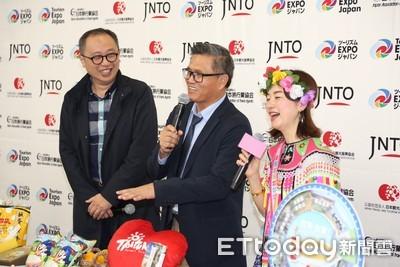 旅遊推廣會超人氣 日媒部落客擠爆台東館