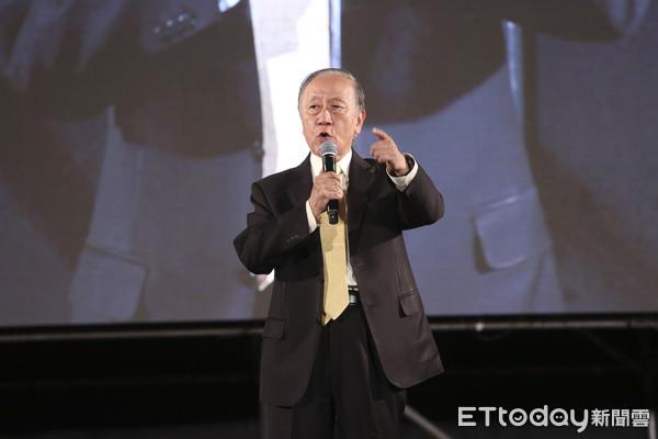 ▲▼新黨《庶民起義 台灣再光復》大會-郁慕明。(圖/記者黃克翔攝)