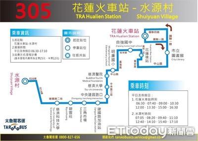 蘇花改將通車  新闢4線公車服務民眾