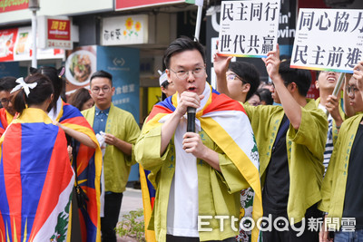 哽咽挺西藏!林飛帆出席同志大遊行:民進黨沒有放棄