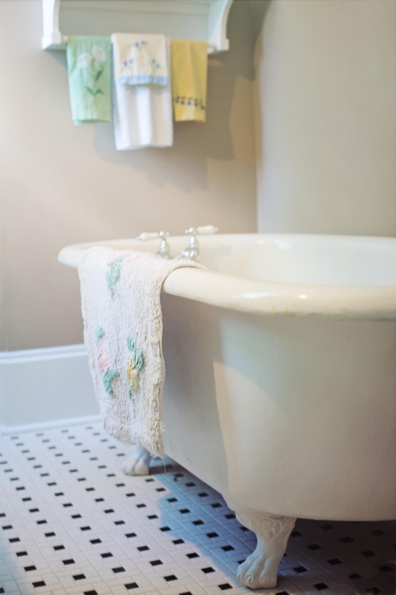 ▲浴缸,浴室,洗澡。(圖/取自免費圖庫Pixabay)