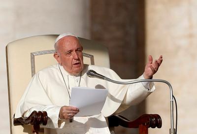 義大利媒體:教宗將被動發言香港事件