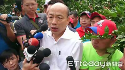 韓國瑜縮小民調 蔡英文:我不是說大話選舉