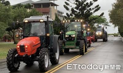 蔡英文:補助大型農具讓農業智慧化