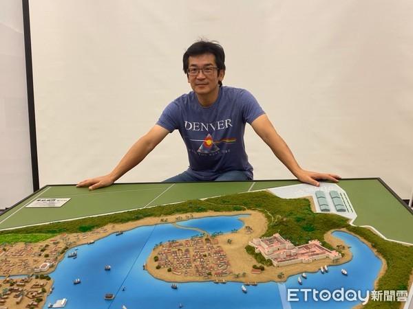 ▲▼魏德聖將以新片《台灣三部曲》主要場景在台南後壁打造「豐盛之城」。(圖/記者洪文攝)