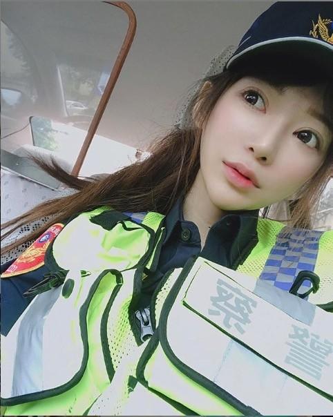 ▲▼桃園最正女警林筱綺。(圖/翻攝IG)