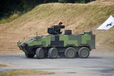 雲豹甲車通訊裝備離奇失蹤半年 庫房、天花板找回