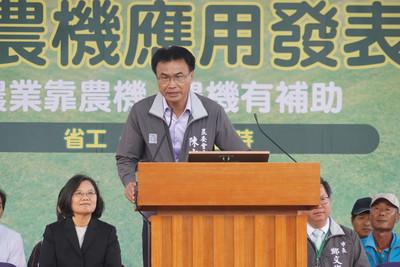 農機預算暴增被說選前撒錢 陳吉仲火了