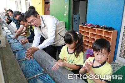 濕搓沖捧擦守護學童對抗腸病毒