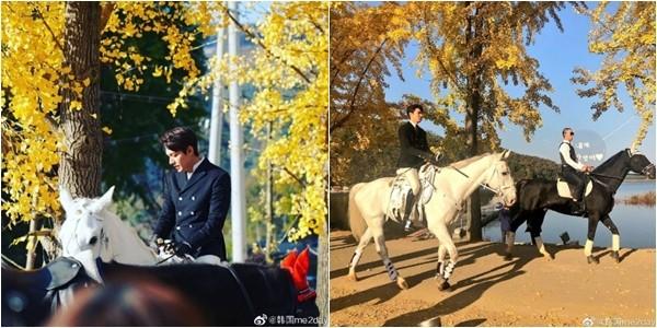 ▲李敏鎬的路透照。(圖/翻攝微博/韓國me2day)