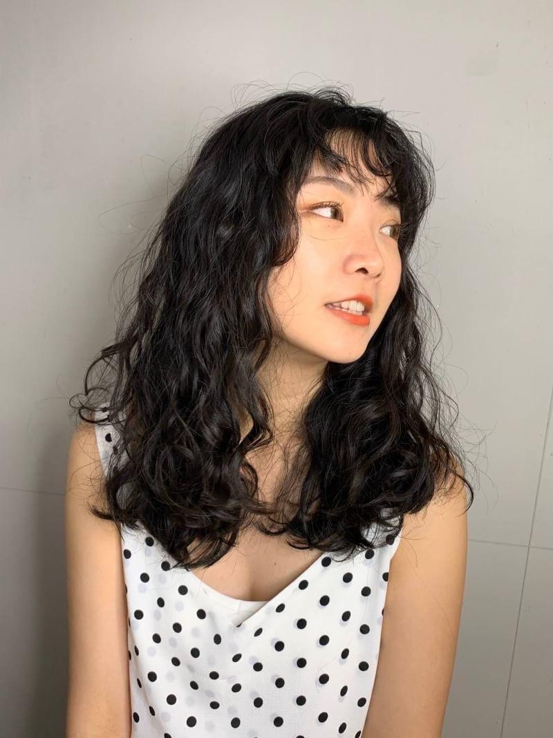 ▲▼「QQ小卷」修飾臉髮型。(圖/stylemap提供)