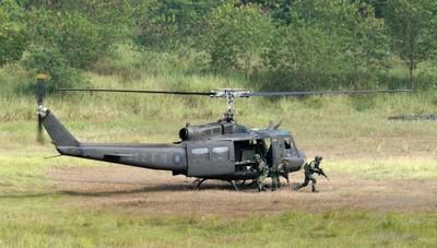 8月贈巴拉圭UH-1H直升機墜毀 國防部:全力協助後勤
