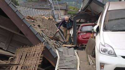 地震壓不垮溫心!熊本坍方磚瓦「忘不了台灣」 居民:約好一定要回家