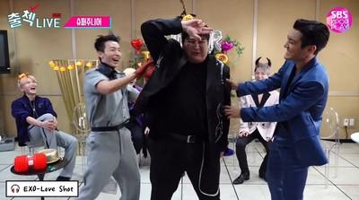 神童「快速震動」還原EXO手槍舞