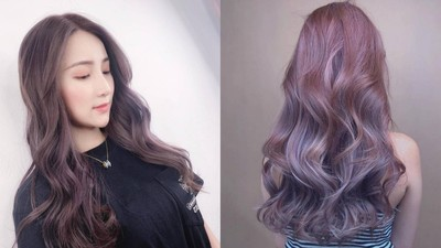 甜到生螞蟻!秋冬仙女系「浪漫紫色系」染髮 長出黑髮根也超自然
