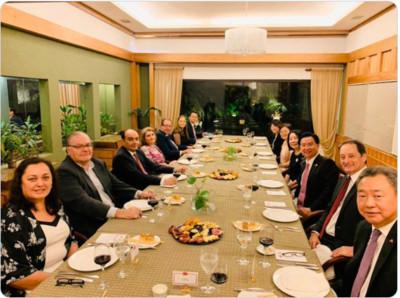 吳釗燮訪巴拉圭 美國大使現身晚宴