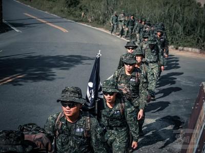 陸軍機步333旅20公里山隘行軍