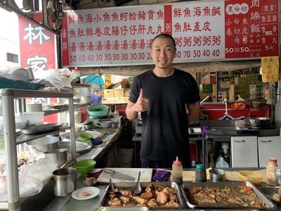 酷男賣肉燥飯為「台灣米」寫歌