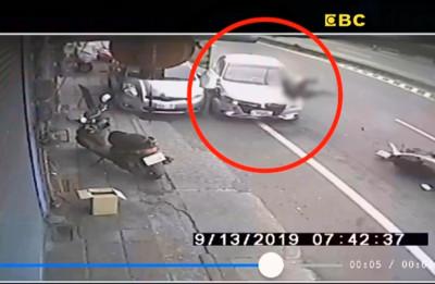 騎士遭25歲保全撞死 妻慟:買菜人就沒了
